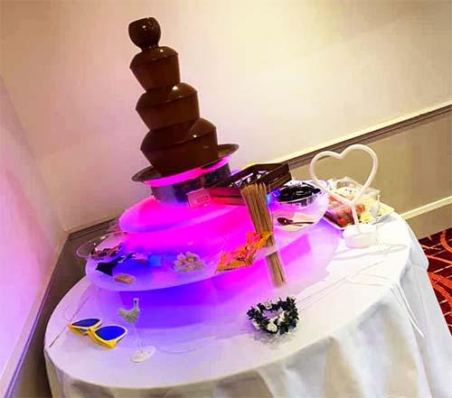 Hire a chocolate fountain