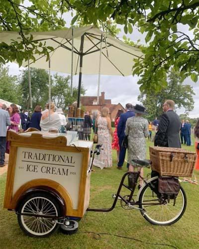 Ice cream trike for hire