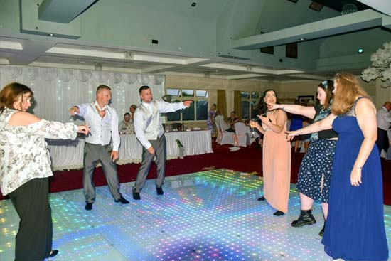 Dance floor with lights for hire