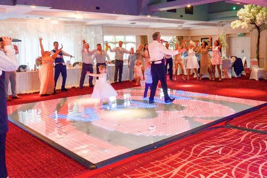 Hire an LED dance floor