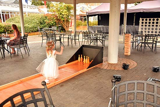 Extras - outdoor games for hire