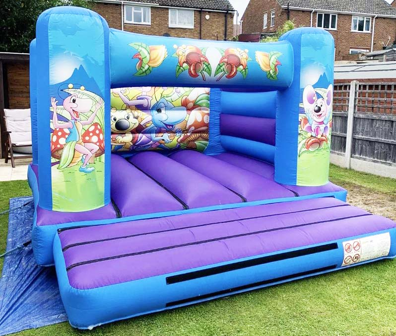 Inflatable hire - bouncy castles West Midlands